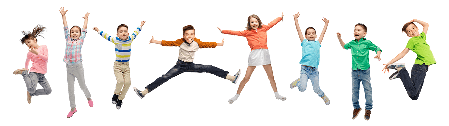 Children Jumping